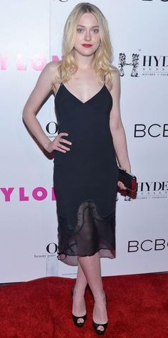 Look of the Day - May 10, 2015 - NYLON Magazine And BCBGeneration Annual May Young Hollywood Issue Party Hosted By May Cover Star Dakota Fanning from #InStyle