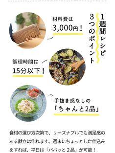 材料費3000円でふたり分10品作れる!手間なし「晩ごはん」一週間レシピ Japanese Food, Lunch Box, Food And Drink, Meals, Dinner, Baking, Vegetables, Recipes, Outdoors