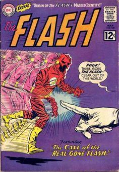 The Flash #128 first appearance of Abra Kadabra.