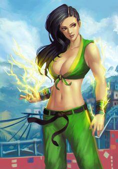 Street Fighter 5 - Laura by phamoz on @DeviantArt