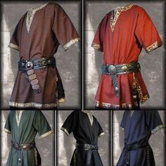 Belt Hook Medieval Coat Ideal For Re-Enactment Events