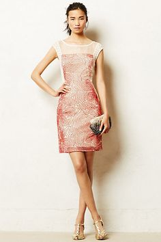 Ajna Stitched Sheath #anthropologie