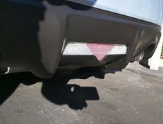 DIY rhinestone brake light garnish on Series 10 FRS #scionfrs #scion #scion10