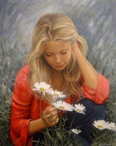 Emmanuel Garant. Pinturas realistas
