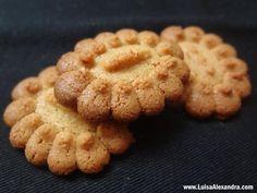 Biscoitos de Farinha de Grão com Erva Doce e Limão • Dispára-Biscoitos • Bimby
