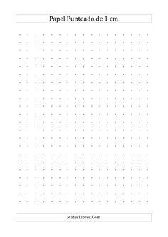 Papel Punteado de 1 cm (A)