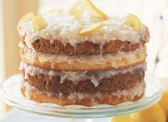 Though Appalachia's apple stack cake tends to get most of the attention, many Southern holiday spreads wouldn't be complete without an old-fashioned Japanese fruitcake, a layered spice cake with coconut filling or icing. Japanese Fruit Cake Recipe, Cooking For Three, Easy Cooking, Cooking Recipes, How To Stack Cakes, Homemade Cake Recipes, Round Cake Pans, Dessert Recipes, Desserts
