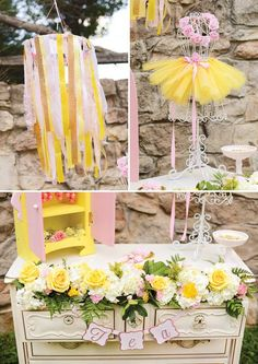 Belle Inspired Princess Tea Party Birthday {Be Our Guest – decoration Girls Tea Party, Tea Party Birthday, 6th Birthday Parties, Birthday Party Decorations, Birthday Ideas, 10th Birthday, Baby Birthday, Princess Belle Party, Princess Birthday