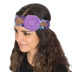 Vintage Rose Wraps Headband (Purple Parade) Fast and Free Shipping, buy 2 get 1 free, any Vintage Rose Wraps products *** Find out more about the great product at the image link.