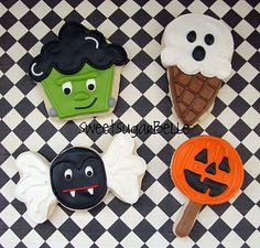 A Unique take on Halloween Cookies