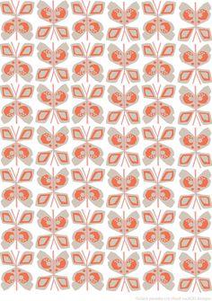 cloud cuckOO designs / claire paveley: flowers & butterflies