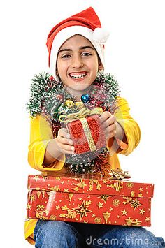 Santa Child Enjoying Christmas Presents Stock Photo - Image of smiling, costume: 35360616 Smile Images, Vector Illustrations, Christmas Presents, Royalty, Santa, Stock Photos, Costumes, Children, Free