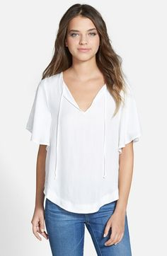 Ella Moss 'Tierra' Solid Top available at #Nordstrom