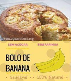 Receita de bolo de banana de liquidificador Ingredientes 4 bananas maduras ½ xícara de óleo ou azeite 4 ovos 2 xícaras de flocos de aveia 1 xícara de uvas passas 2 colheres (sopa) de fermento em pó Canela a gosto Modo de preparo Bata no...