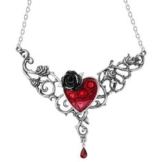 Blood Rose Heart van Alchemy Gothic