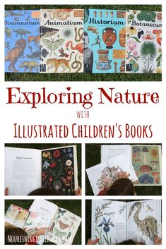 Exploring Nature with Illustrated Children's Books: Illustrated children's books are a perfect way for kids to explore nature! Homeschool Books, Homeschool Kindergarten, Homeschool Curriculum, Catholic Homeschooling, Online Homeschooling, Nature Activities, Learning Activities, Science Resources, Play Based Learning