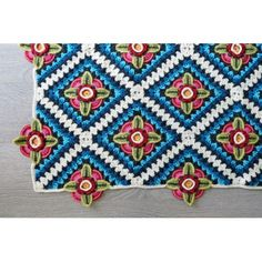 Mexican Diamond Blanket Pattern on Etsy