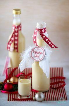 Weihnachtliche Liköre – Engelchen trifft auf Spekulatius