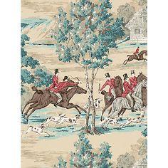 Buy Sanderson Tally Ho Wallpaper Online at johnlewis.com