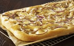 Rosemary Onion Focaccia by Anna Olson @FoodNetwork_UK