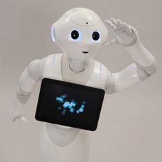 Pepper the robot: Intelligent robot, SoftBank | Aldebaran robot -- this robot can read human emotions and is adorable