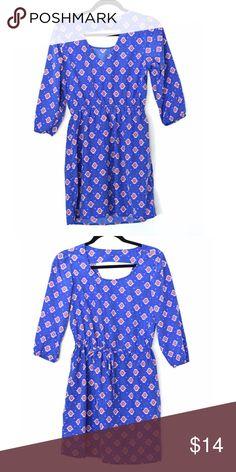 """BeBop Aztec print dress 35"""" L 17"""" pit to pit great condition BeBop Dresses Mini"""