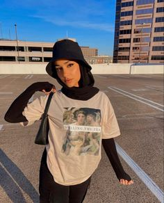 Modest Fashion Hijab, Modern Hijab Fashion, Street Hijab Fashion, Muslim Fashion, Niqab, Mode Outfits, Fashion Outfits, Cute Casual Outfits, Streetwear Fashion