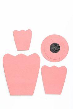Paper Flower Centerpiece - A Pumpkin And A Princess