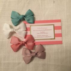 New style of mini hairbows live in the shop! Free worldwide shipping until 1st of June, get your bowtie or hairbow for a great price!
