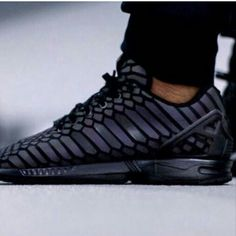 adidas zx flux xeno with the reflective tint