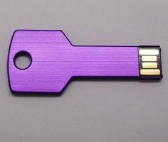 Simple style Key shape USB Flash Drive 2GB 4GB 8GB 16GB 32GB /U Disk/creative Pendrive/Memory Stick/Disk/Gift S44 print LOGO