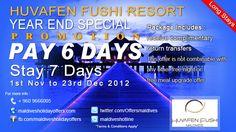 Huvafen Fushi Resort Maldives Awaken Your Dream With U…  (Long Stays)