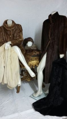 Vintage furs-A selection of furs in our December Antique Sale 2/12/15 #BourneEndAuctionRooms
