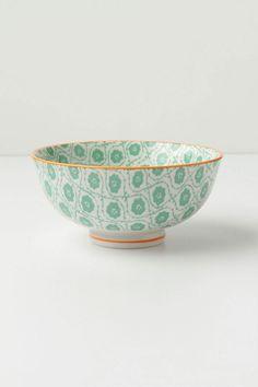 Anthro Atom Art Bowl