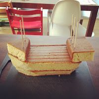 Truly Scrumptious: Pirate Ship Cake
