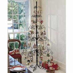 wrought iron christmas tree