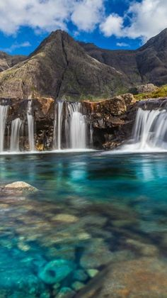 19. Visit Fairy Pools, Isle of Skye, Scotland