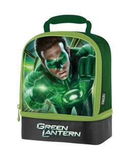 Green Lantern Dual Compartment Lunch Kit