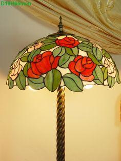 Rose Tiffany Lamp 16S0-197F5