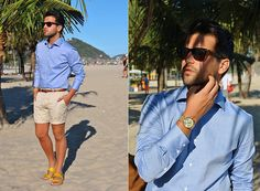Marc Galobardes - Tailor4less Shirt, H&M Shorts - COPACANA #RIODEJANEIRO