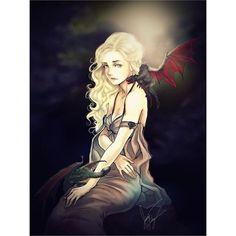 Daenerys Stormborn by  Aqua Furlong -  #GameOfThrones #GoT #Daenerys #Khaleesi #JonSnow #GotArt #GameOfThronesArt #DaenerysTargaryen #Daenerys #Targaryen #MotherOfDragons #Dany #EmiliaClarke #KitHarington #GameOfThronesFamilly #GoTFamily #GoTPage #GoTFanPage #GotFanArt #Winterfell #Westeros #Ironthrone #asoiaf #ASongOfIceAndFire #Dragon #Dragons #Drogon #Rhaegal #Viserion #ThronesDragons