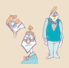'MR. EDWARD MOP, Registered Accountant' - Office Clowns by Adam Beanish