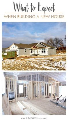 What To Expect When Building A New House   Part 1 - Wisconsin Lifestyle Blogger - So you decided to build your own home? Where do you start? Click to read more.