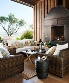 ⭐Outdoor fireplace, Passion Decor