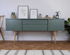 Modern Tv Cabinet, Recycled Furniture, Furniture Projects, Home Furniture, Tv Unit Design, Storage Drawers, Cupboard Drawers, Cupboards, Vintage Sideboard