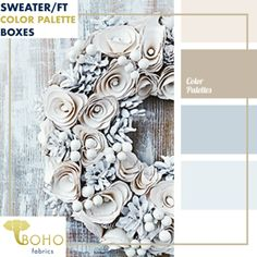 Palette Shades of brown and gray-blue are ideal for winter. Use this palette for your wardrobe and make-up.Shades of brown and gray-blue are ideal for winter. Use this palette for your wardrobe and make-up. Colour Pallette, Colour Schemes, Color Combos, Silver Color Palette, Blue Palette, Neutral Palette, Neutral Colors, Wall Colors, House Colors