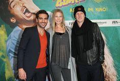 FACK JU GÖHTE - PREMIERE im Mathäser Kino in München am 29.10.2013 Elyas M'Barek, Sebastian Schweinsteiger und Freundin Sarah Brandner