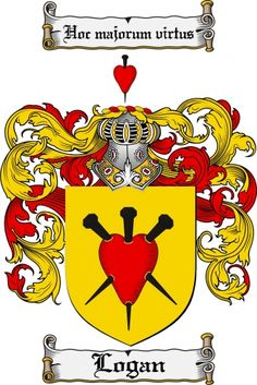 Logan Coat of Arms Logan Family Crest Instant Download - for sale ...