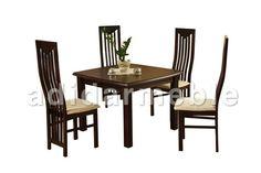 HARFA Stół + 4 krzesła, galeria zdjęć