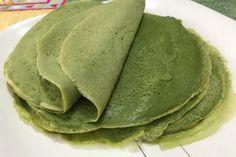 Massa verde para lasanha ou panqueca – ByPaulinha.com